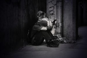 ホームレスを助けたい:そうなる原因は?